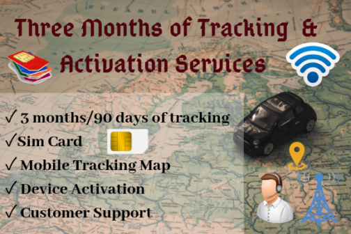 GPS Tracker Activation service
