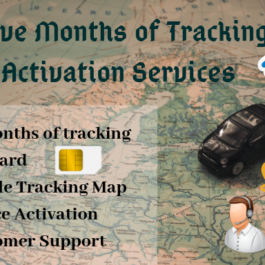 GPS Tracking Service + Activation/ Reactivation