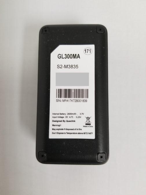 GL300MA GPS tracker