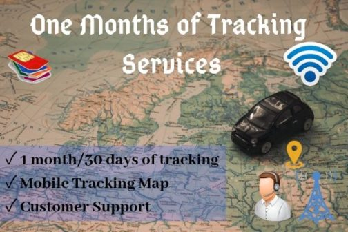 Monthly tracking service plans