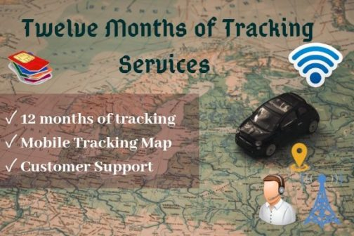 12 months of tracking service plan