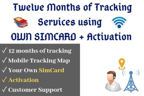Yearly gps tracking service plan