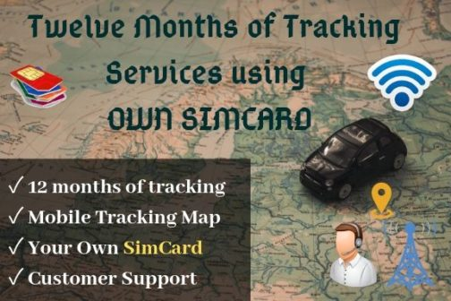Yearly gps tracking service package